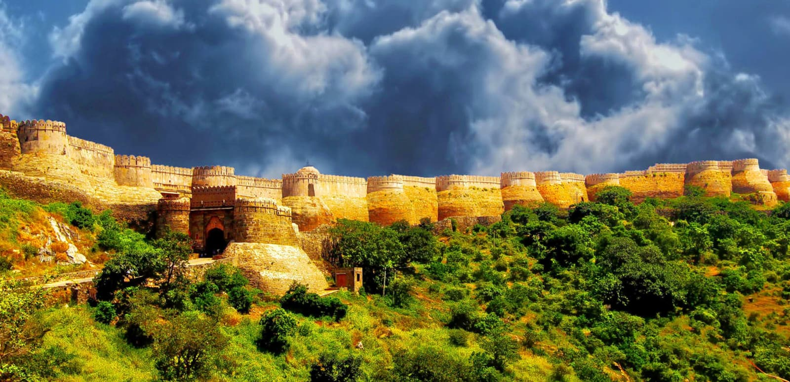 FORTS AND PALACES OF RAJ...