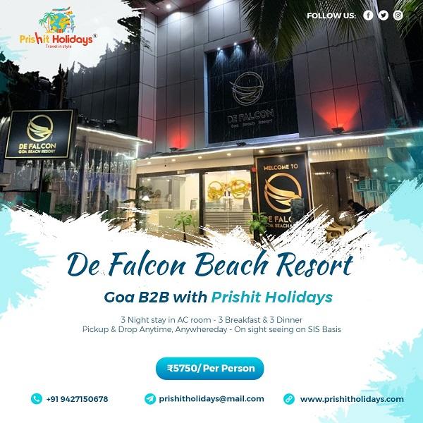 GOA PACKAGE - De Falcon ...