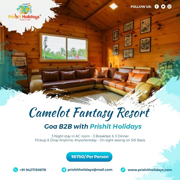 GOA PACKAGE -  Camelot F...