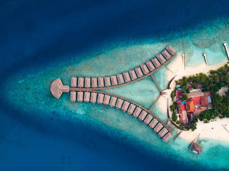 MALDIVES - The Dhiggiri Resort & Island  Luxurious Resort